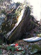 Rock Climbing Photo: Six Inch Whip