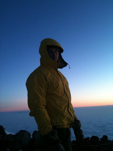 Fuji Summit at Sunrise