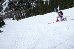 Rock Climbing Photo: Spring Skiing in Colorado