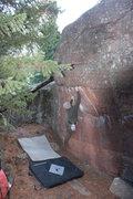 Rock Climbing Photo: Great climb for a nice fall day.