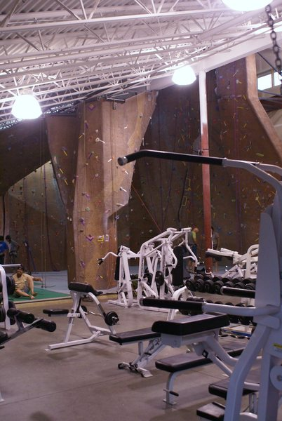 Climbing gym in Silverthorne, CO