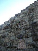 Rock Climbing Photo: Fun short route. 3 bolts to anchors.