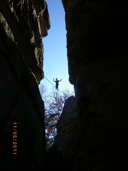 Rock Climbing Photo: Highline