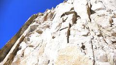 Rock Climbing Photo: finishing the Fresh Air Traverse, Whitney's East F...