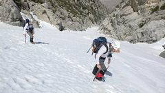 Rock Climbing Photo: Jon and Hans trudging up San Jacinto's NF