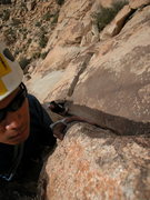 Rock Climbing Photo: taking my buddy Steve up The Swift, Lost Horse Wal...