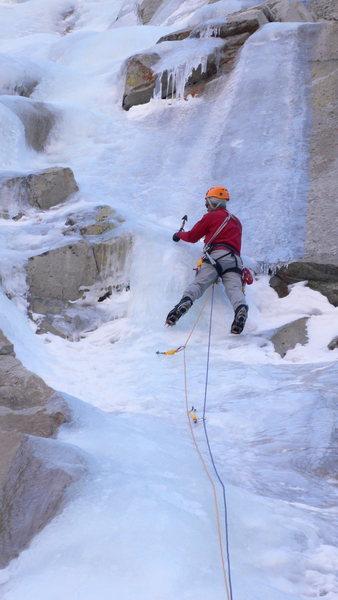 Rock Climbing Photo: Thin conditions on Photoshop, LVC