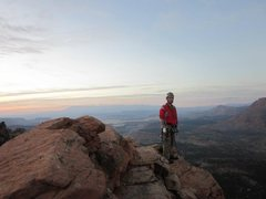 Rock Climbing Photo: Top of Mrs. Buttersworth