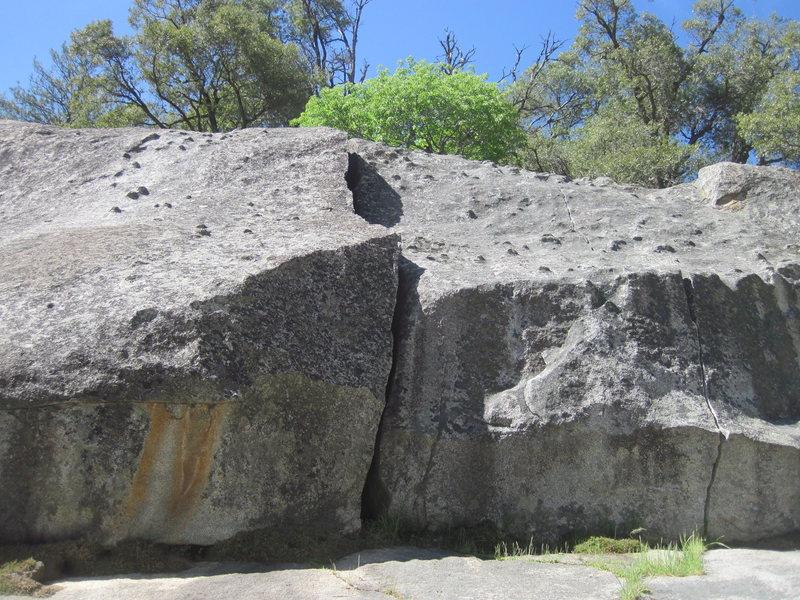 Surprise on Struggler Cliff