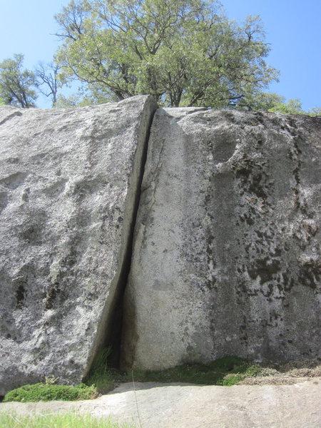 Rock Climbing Photo: The difficult glory of Struggler (5.9) on Struggle...