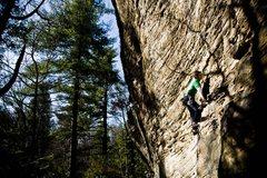 Rock Climbing Photo: Josh on Wadcutter