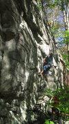 Rock Climbing Photo: stomping it
