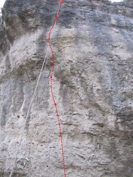 Rock Climbing Photo: Bilch Attack