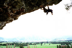 Rock Climbing Photo: This pic shows the massive jugs on this climb a li...