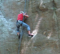Rock Climbing Photo: jamming