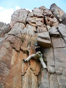 Rock Climbing Photo: The start of the climbing - this is from the belay...