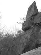 Rock Climbing Photo: The Stack. A real pinnacle like summit.