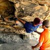 Bouldering in New RIver Gorge WV