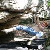 Bouldering McAfees's Knob VA