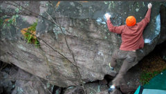 Rock Climbing Photo: Almost Punting