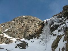 Rock Climbing Photo: Allen climbing p. 3.