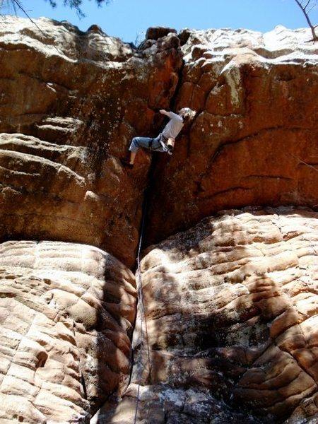 Rock Climbing Photo: oh inverted world