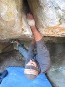 Rock Climbing Photo: Mr Mix, full on.