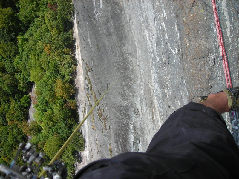 Rock Climbing Photo: Yeah, its steep
