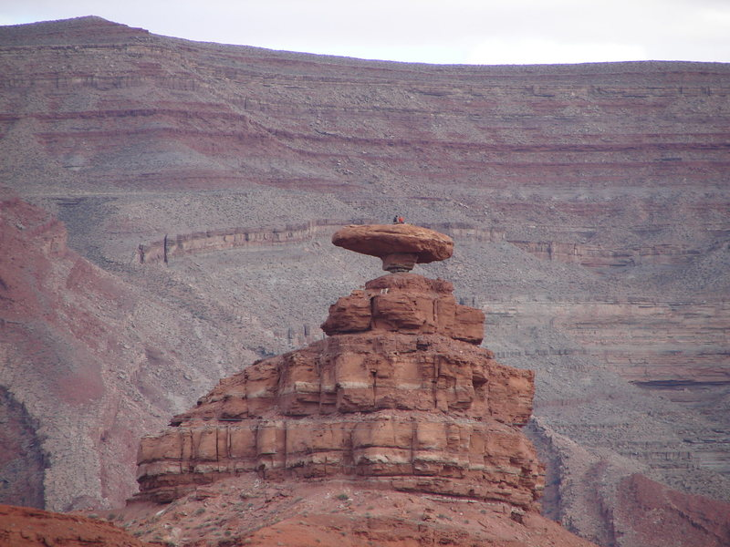 Mexican Hat- 2 climbers and their dog :)