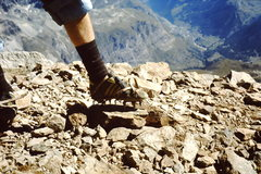 Rock Climbing Photo: 1976 All the right gear for an ascent of the Hornl...