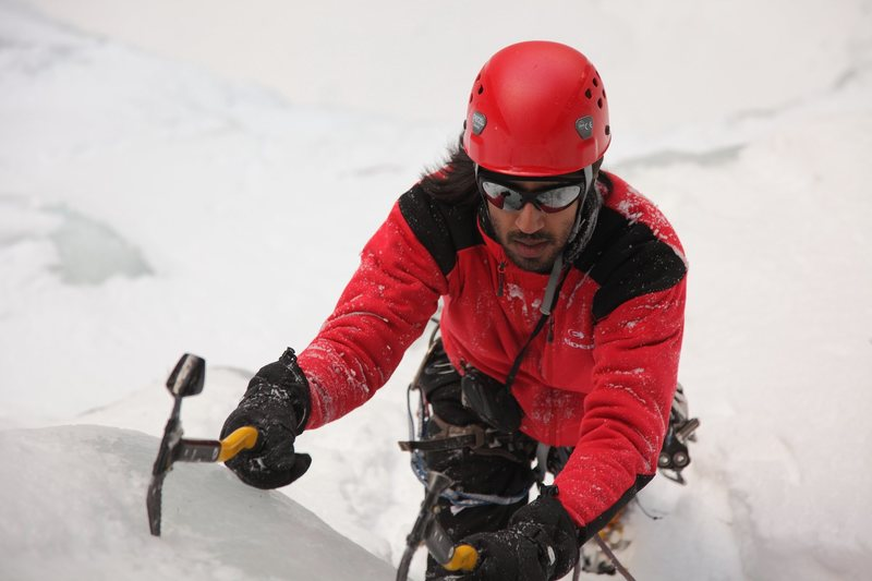 Rock Climbing Photo: Ice.