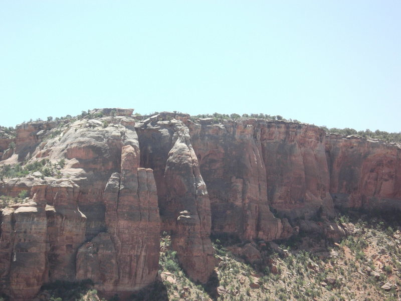 Rock Climbing Photo: The offensive view across from Short, Cupped Hands...