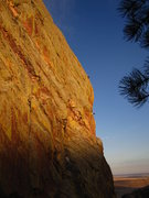 Rock Climbing Photo: Climbers on the Naked Edge as seen from pitch thre...
