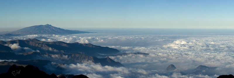 Undercast on Pico de Orizaba, around 15,000 feet. March 2011.