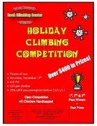 Holiday Competition Flier