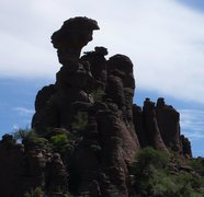 Rock Climbing Photo: The Torch!