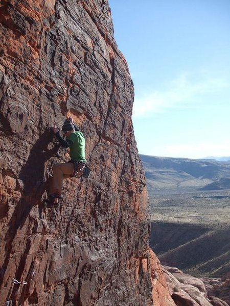 Rock Climbing Photo: Red Rocks, NV