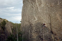 Rock Climbing Photo: Mr. Critical, Rushmore Area, SD