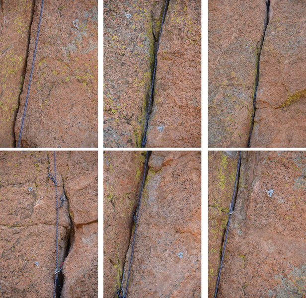 Rock Climbing Photo: Unneccessary bolts on Consolation Prize, Crag Ranc...