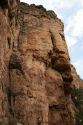 Rock Climbing Photo: Generation X topo. Bolt placements very approximat...