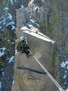 Rock Climbing Photo: Sun Ribbon tyrolean