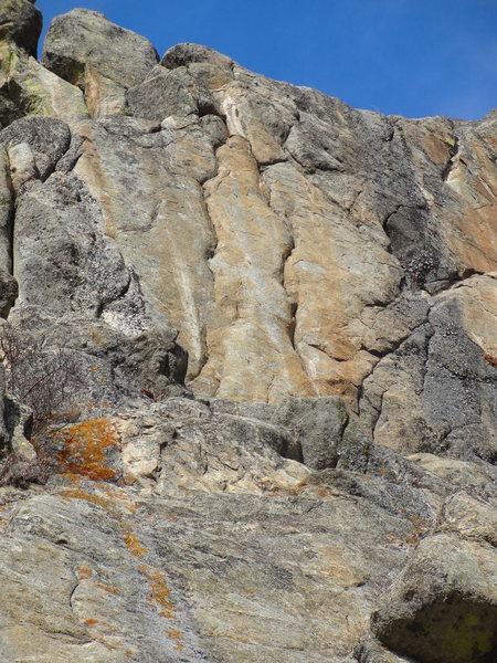 Rock Climbing Photo: Geminae Crack.