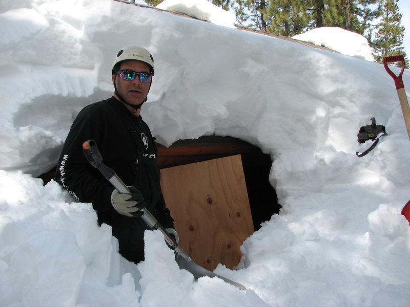 2010/2011 Sierra Neveda winter.<br> Wish we had more winter like this :)