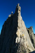 "Rock Climbing Photo: The infamous Feather Crest. Dubbed ""The wilde..."