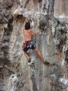 Rock Climbing Photo: Babes in Thailand, Tonsai Beach.