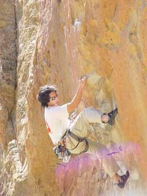 Rock Climbing Photo: Blue Light Special, Smith Rock, OR