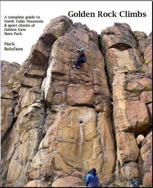 """Rock Climbing Photo: The guidebook to the East Quarry """"Golden Rock..."""