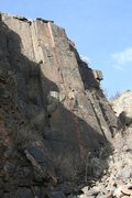 Rock Climbing Photo: Splitter Finger Crack.