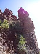Rock Climbing Photo: DAS on the FA of Cherubette.