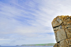 Rock Climbing Photo: Demo Route, Sennen, VS